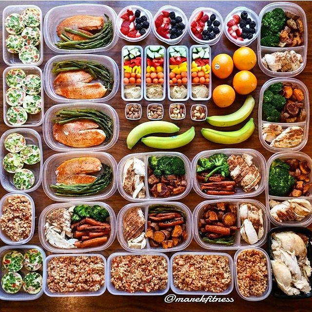 multiday meal prep