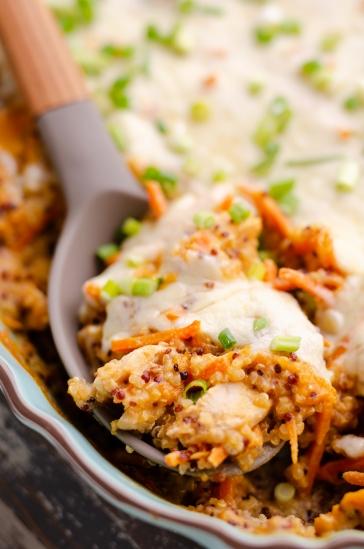 Buffalo-Chicken-Quinoa-Bake-photograph-The-Creative-Bite-copy